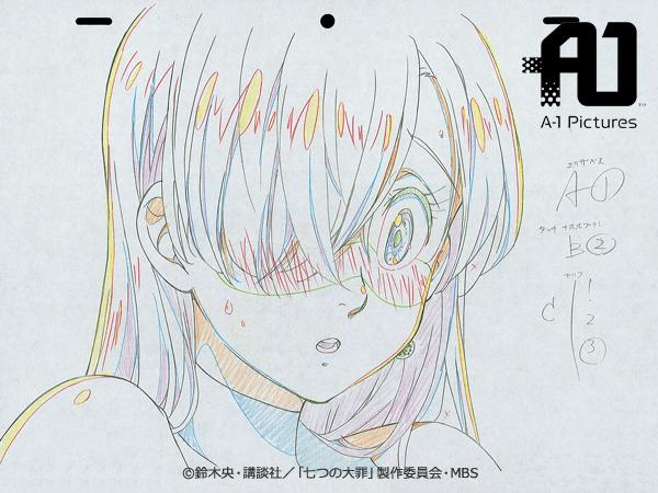 Line Art Anime : Image anime concept art elizabeth nanatsu no taizai wiki