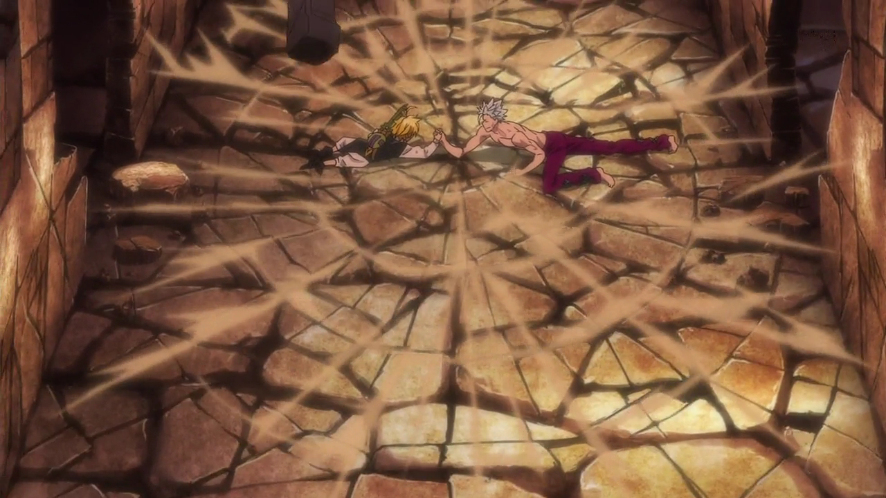 Meliodas And Ban Playing Arm Wrestling