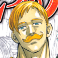 Escanor forte primo piano