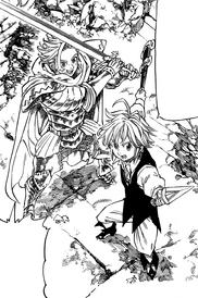 Meliodas and Arthur teaming up