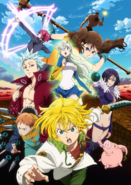 Nanatsu no Taizai Anime Second Season Key Visual