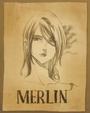 Merlin poster Anime