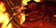 Ban ataca al Demonio Rojo