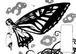 Gloxinia mostra suas asas