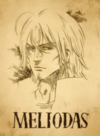Meliodas Wanted Poster Anime