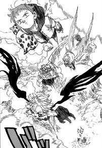 King, Derieri, Sariel and Tarmiel go after Estarossa