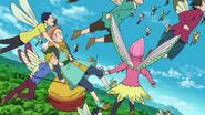 Fairies rescuing King