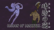 Melascula using Coocoon of Darkness