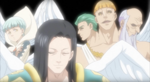 Three Archangels Anime