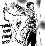 Monspeet creating a Purgatory Flame Bird
