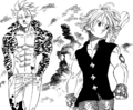 Ban and Meliodas in the Purgatory.png
