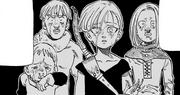 Rou y sus amigos encuentran la aldea