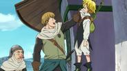 Alioni pulling up Meliodas anime