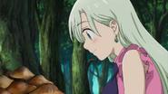 Elizabeth finds mushrooms
