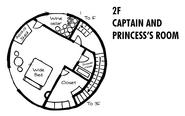 Boar Hat Floor Map 2F