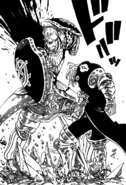 Estarossa using Full Counter against Escanor