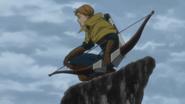 Weinheidt standing on a cliff