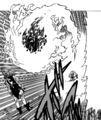 Cain attacking Meliodas with even bigger fireball.png