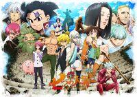 Мелиодас на плакате третьего сезона