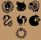 Símbolos de los Pecados Capitales