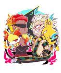 Musashi,ikkaku with their pokemon