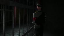 Hajime imprisoned in the Gogyousan Prison