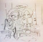 Houzuki and samon