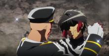 Hajime injures Jyugo