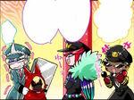 Shin, Kiji, and Mitsuru