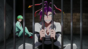 Honey and Trois imprisoned in Gogyousan