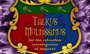 Talkus Multissimus
