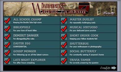 Warnings at Waverly Academy