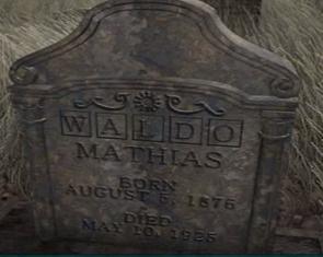 Waldos Tombstone