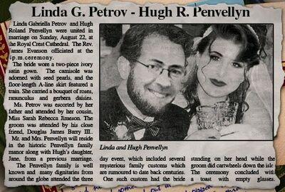 Linda and Hugh