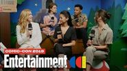 'Nancy Drew' Stars Kennedy McMann, Leah Lewis & Cast Join Us LIVE SDCC 2019 Entertainment Weekly