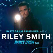 Riley Smith instagram takeover