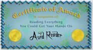 Avid Reader2