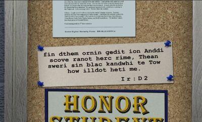 Newspaper Message Remastered