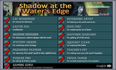 Shadow at the Water's Edge