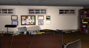 Dwayne's Office