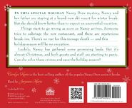 A Nancy Drew Christmas audiobook back