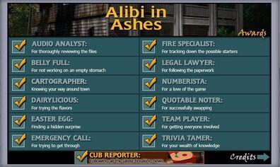 Alibi in Ashes