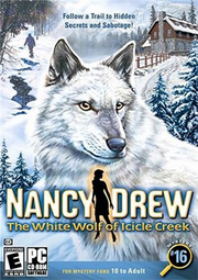 Nancy Drew - The White Wolf of Icicle Creek Coverart