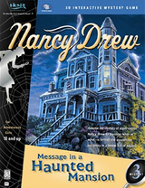 Message in a Haunted Mansion Coverart