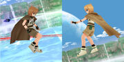 Yuuno, Dark Fragment vs the real one