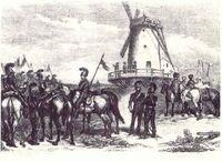Napoleon's observation post