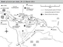 Battle of Arcis-Sur-Aube map