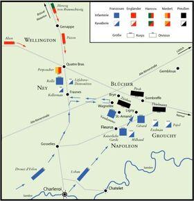 Battle of Ligny and Quatre Bras