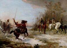 Napoleon's Peril at Brienne