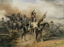 Horace Vernet-Charge of the cuirassiers